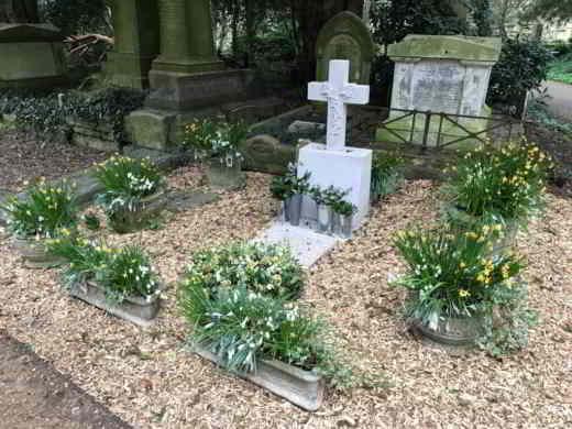 La tomba di George Michael