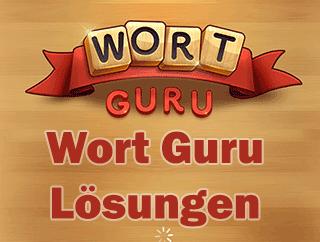 Lösungen Wort Guru fur alle 2000 level