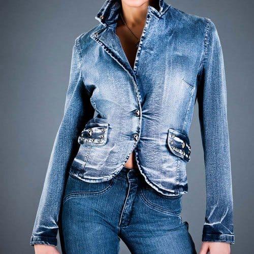 Abbigliamento answer: GIACCA DI JEANS