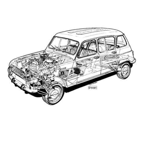 Auto Classiche answer: RENAULT 4