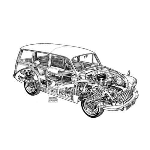 Auto Classiche answer: MORRIS MINOR