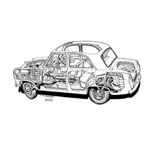 Auto Classiche answer: FORD PREFECT