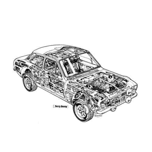 Auto Classiche answer: ESCORT RS2000