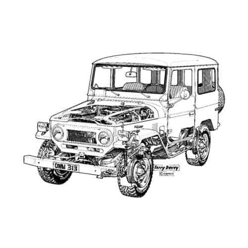 Auto Classiche answer: LANDCRUISER