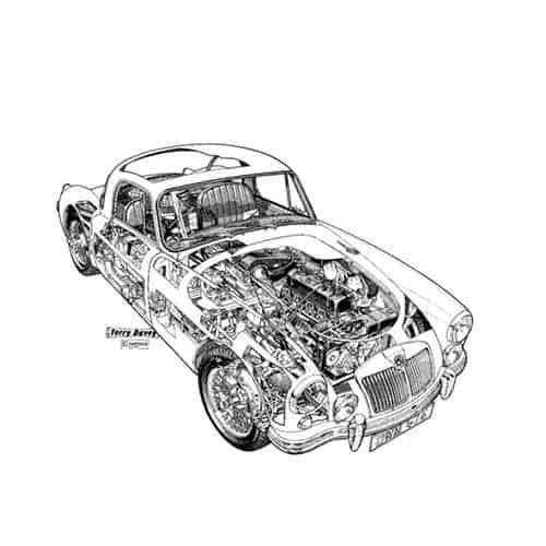 Auto Classiche answer: MGA HARDTOP