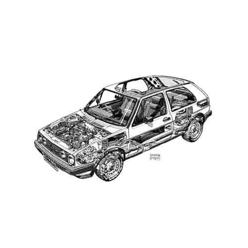Auto Classiche answer: VW GOLF