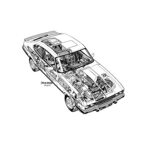 Auto Classiche answer: FORD CAPRI MK2