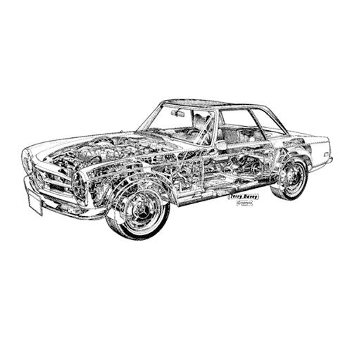 Auto Classiche answer: MERCEDES 280SL