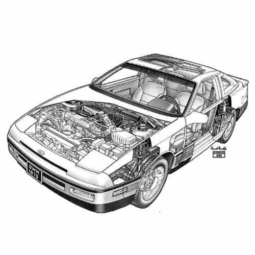 Auto Classiche answer: FORD PROBE