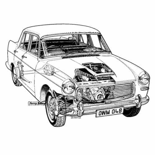Auto Classiche answer: AUSTIN A99