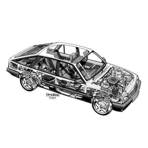 Auto Classiche answer: CAVALIER SRI