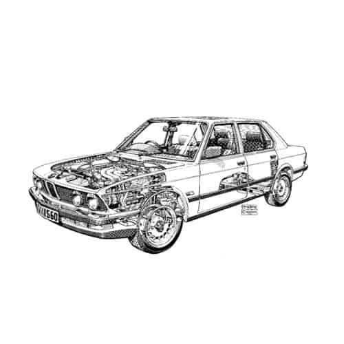 Auto Classiche answer: BMW 520I