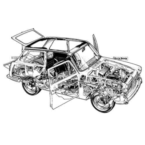 Auto Classiche answer: AUSTIN A40