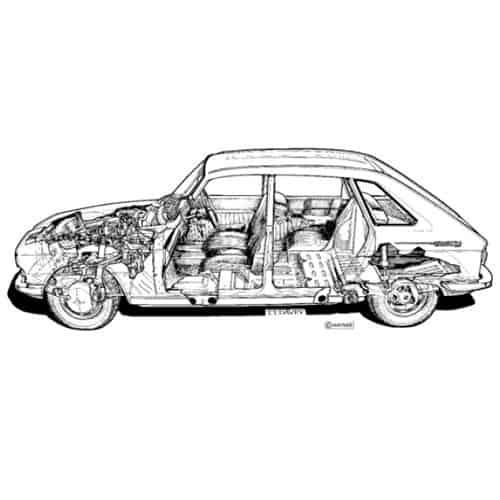 Auto Classiche answer: RENAULT 16