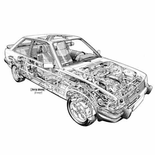 Auto Classiche answer: FORD ESCORT XR3