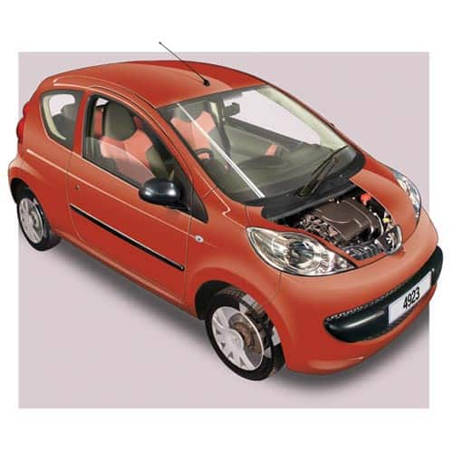 Auto moderne answer: PEUGEOT 107