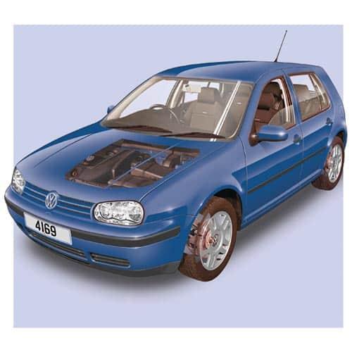 Auto moderne answer: VW GOLF MK4