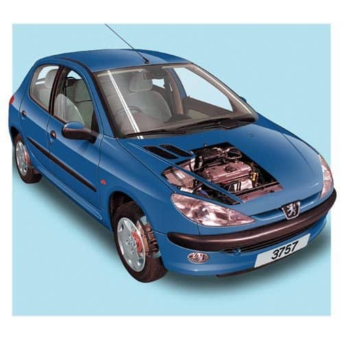 Auto moderne answer: PEUGEOT 206
