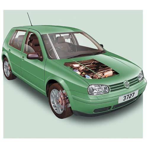 Auto moderne answer: VW GOLF