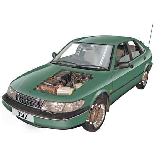 Auto moderne answer: SAAB 900