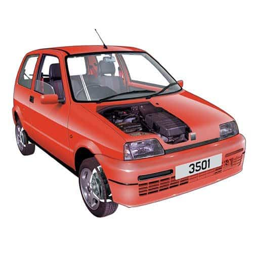 Auto moderne answer: CINQUECENTO