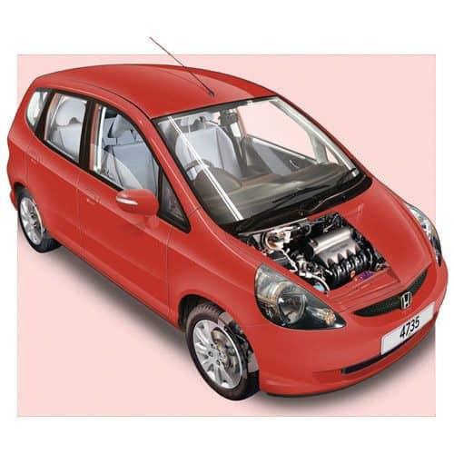Auto moderne answer: HONDA JAZZ