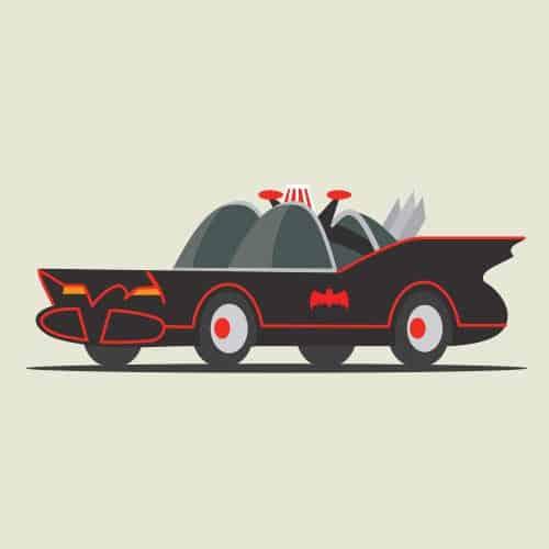 Auto nel cinema answer: BATMAN