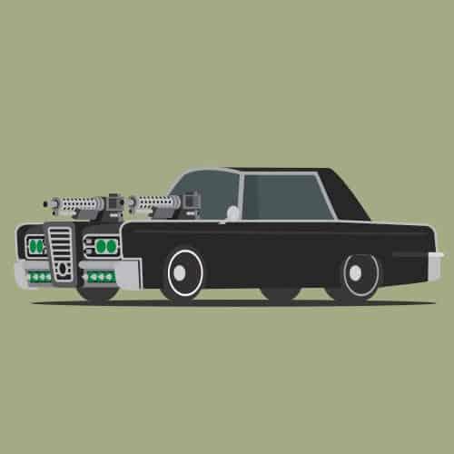 Auto nel cinema answer: THE GREEN HORNET