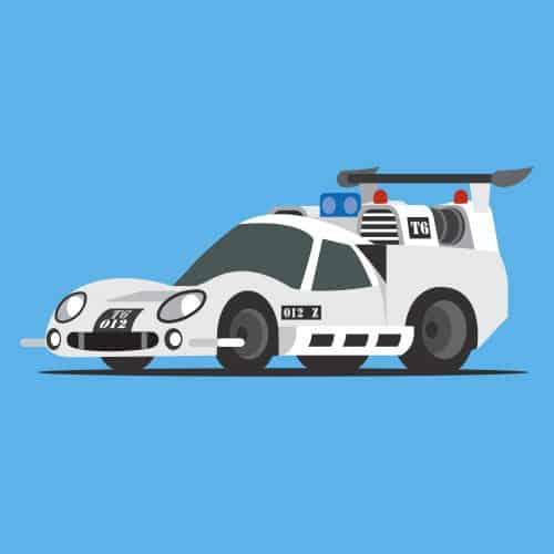 Auto nel cinema answer: THX 1138