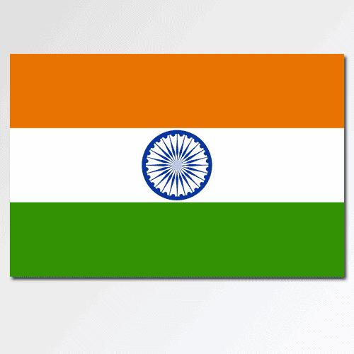 Bandiere answer: INDIA