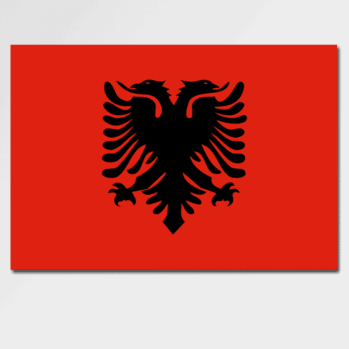 Bandiere answer: ALBANIA