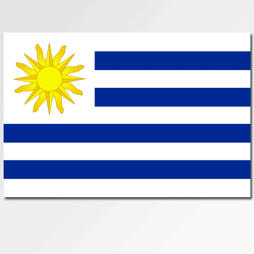 Bandiere answer: URUGUAY