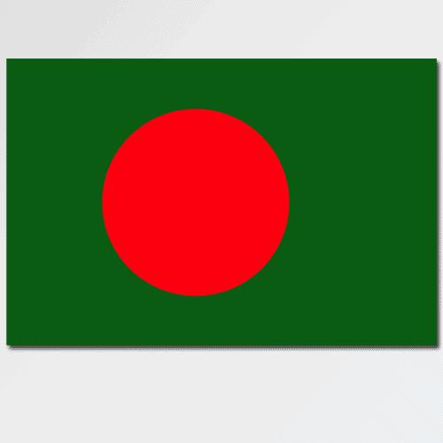 Bandiere answer: BANGLADESH