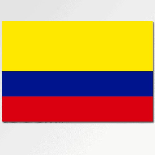 Bandiere answer: COLOMBIA