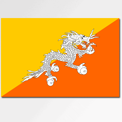 Bandiere answer: BHUTAN