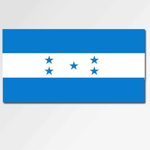 Bandiere answer: HONDURAS