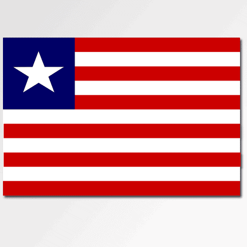 Bandiere answer: LIBERIA