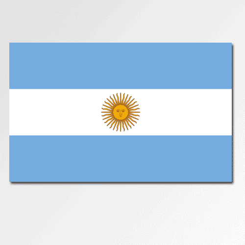 Bandiere answer: ARGENTINA