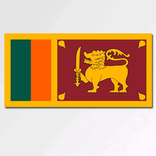 Bandiere answer: SRI LANKA