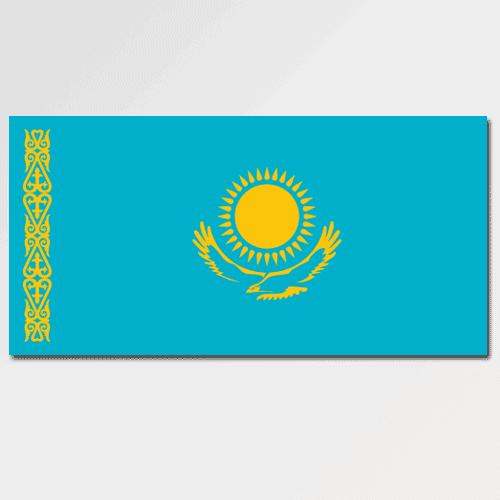 Bandiere answer: KAZAKISTAN