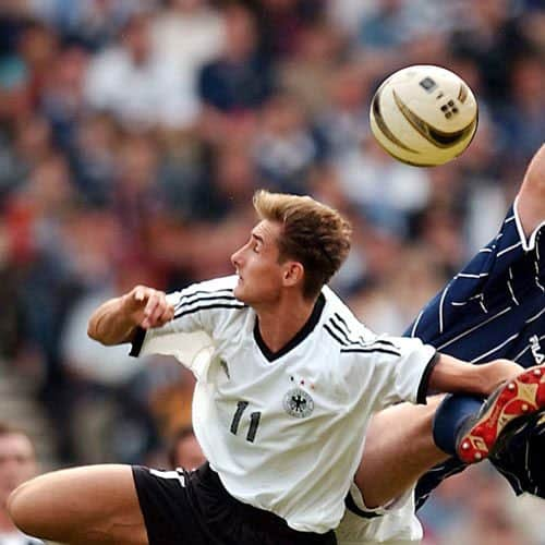 Calcio answer: MIROSLAV KLOSE