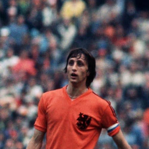Calcio answer: JOHAN CRUYFF