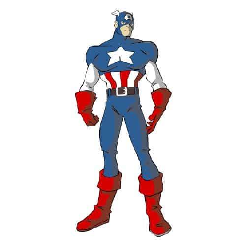 Cartoni animati answer: CAPITAN AMERICA