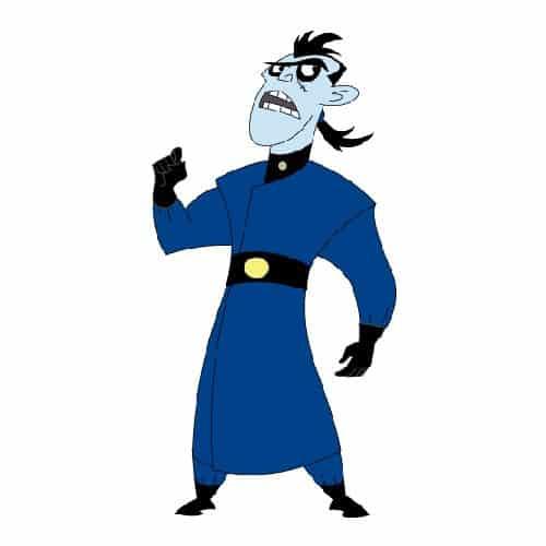 Cartoni animati answer: DOTTOR DRAKKEN
