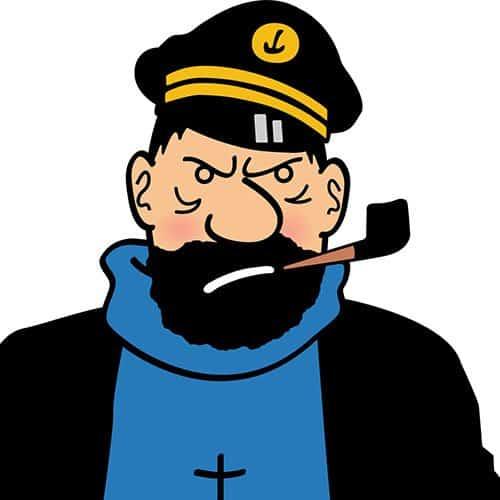 Cartoons 2 answer: CAPITAN HADDOCK