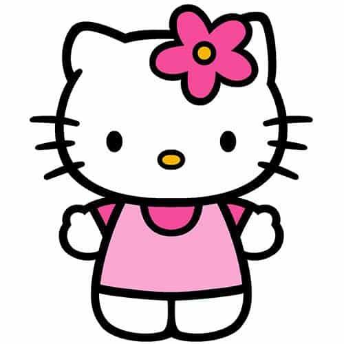 Cartoons 2 answer: HELLO KITTY