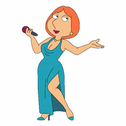 Cartoons 2 answer: LOIS GRIFFIN