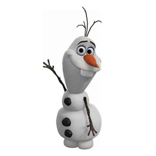 Cartoons 2 answer: OLAF