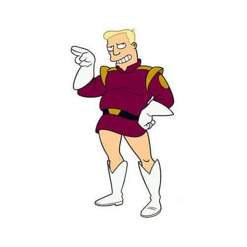 Cartoons 2 answer: ZAPP BRANNIGAN