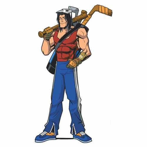 Cartoons 3 answer: CASEY JONES